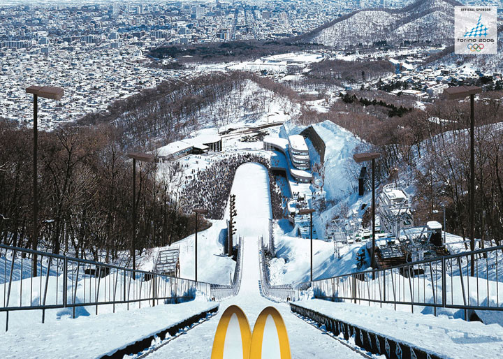 Olympic winter games in Turin-most creative advertisements ever used by McDonald's in the world-11