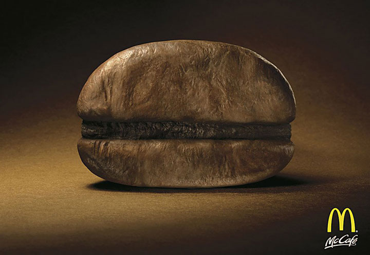 The burger cafe-most creative advertisements ever used by McDonald's in the world-9