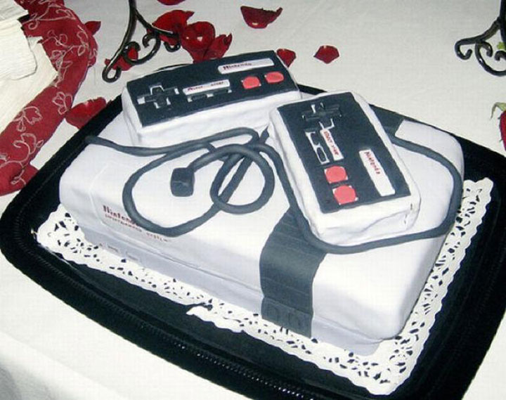 And the last -Original Cake Designs For The Passionate Of Geek Culture -