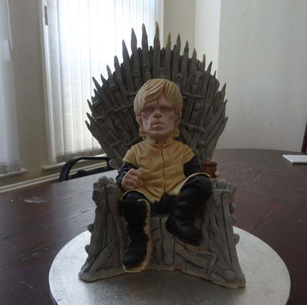 The cake of the universe Game Of Thrones-Original Cake Designs For The Passionate Of Geek Culture -14