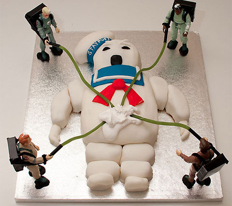 The Ghostbuster cake-Original Cake Designs For The Passionate Of Geek Culture -17