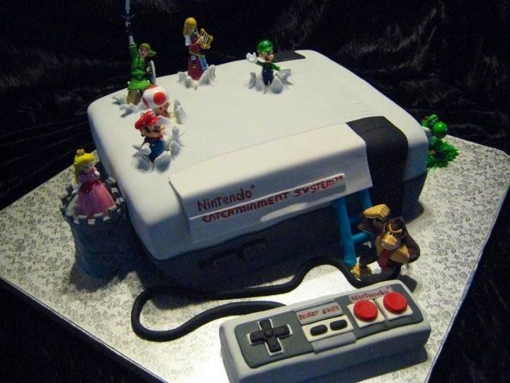 A fourth mustachioed plumber for the road-Original Cake Designs For The Passionate Of Geek Culture -2