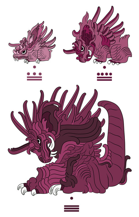 Nidoran, Nidorino and Nidoking-Pokemayans: How Maya Would Have Revered Pokemon In their Temples?