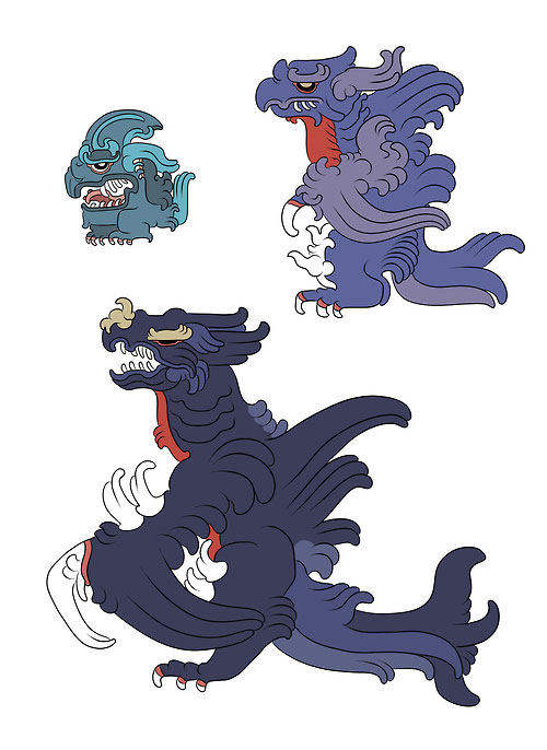 Gible, Gabite and Garchomp-Pokemayans: How Maya Would Have Revered Pokemon In their Temples?