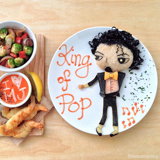 Samantha Transforms Her Foods Dishes Into Impressive Artworks