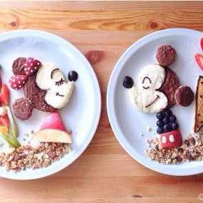 Samantha Transforms Her Dishes Into Impressive Artworks To Please Her Children (Photo Gallery)