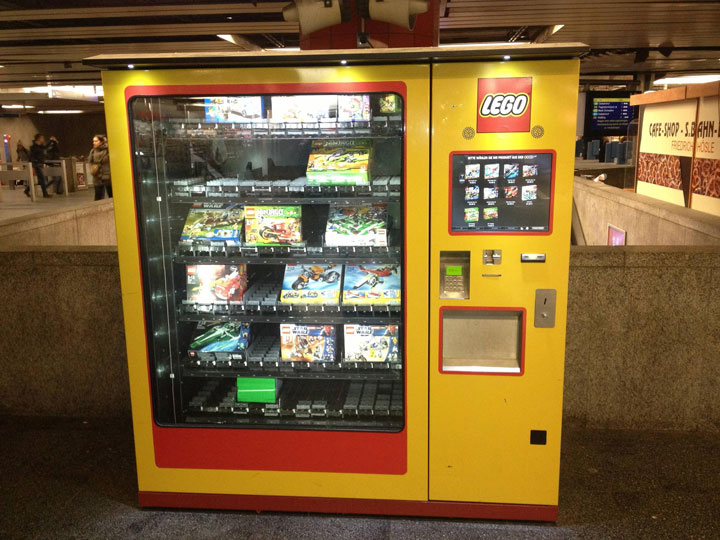 LEGO Strange Vending Machine-The vending machine of LEGO toys