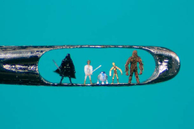 An Artist Creates Amazing Miniature Sculptures Of The Size Of A Sewing Needle Pinhead-1