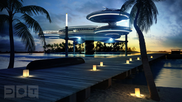 Water Discus: Future Underwater Hotel In Dubai