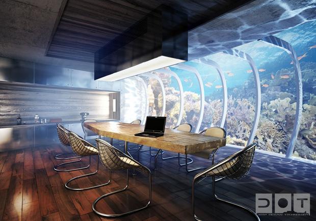 Water Discus: Future Underwater Hotel In Dubai