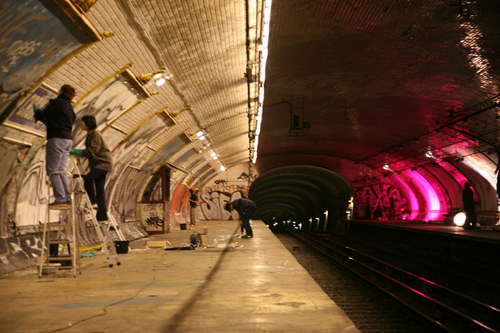 Croix-Rouge station -Visit The Amazing Abandoned Ghost Metro Stations Of Paris-1