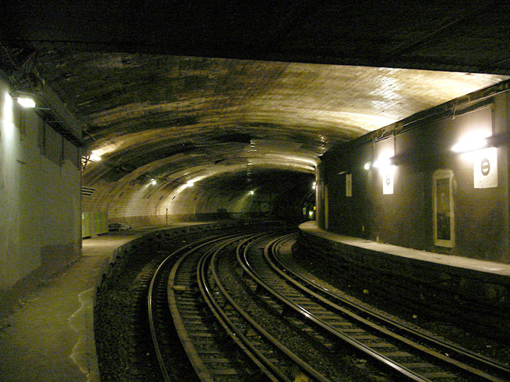 Victor Hugo station-Visit The Amazing Abandoned Ghost Metro Stations Of Paris-18