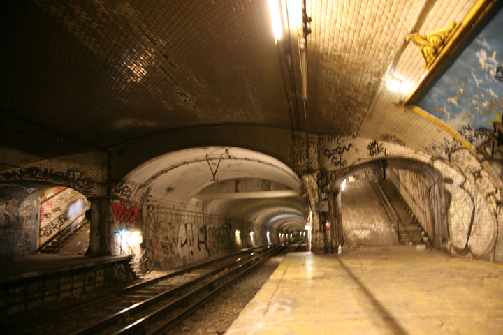 Croix-Rouge station -Visit The Amazing Abandoned Ghost Metro Stations Of Paris-2