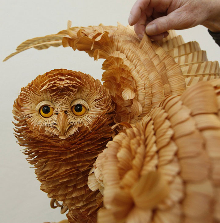 Amazing Lifelike Wooden Sculptures Made By russian sergei-19