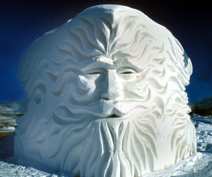 Awesome Ice Sculptures That Will Make Traditional Snowman Jealous-1