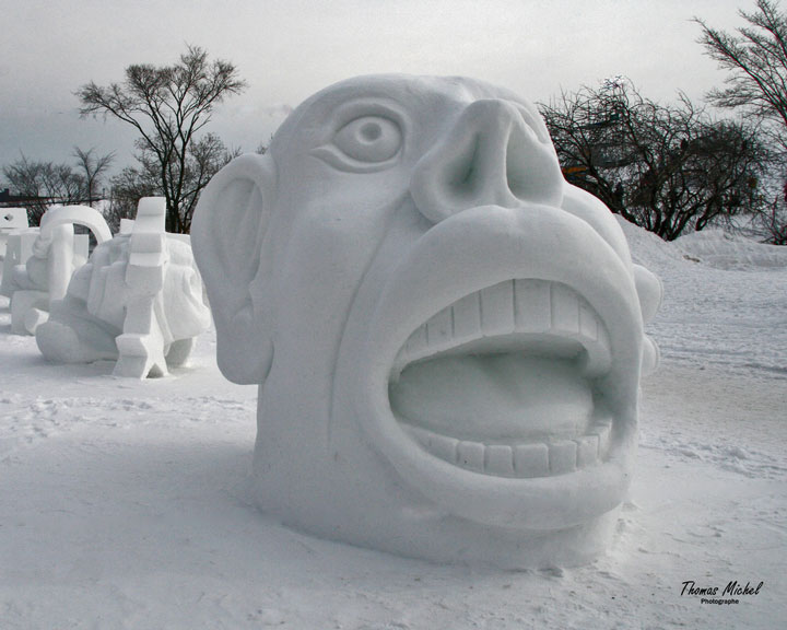 Awesome Ice Sculptures That Will Make Traditional Snowman Jealous-4