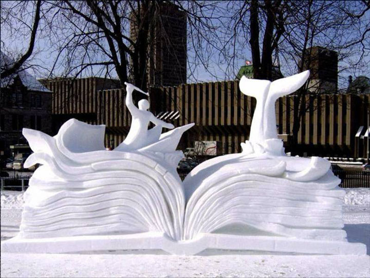 Awesome Ice Sculptures That Will Make Traditional Snowman Jealous-9