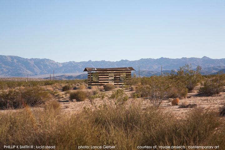 High Desert: An Invisible Hut In The Middle Of The Californian Desert-