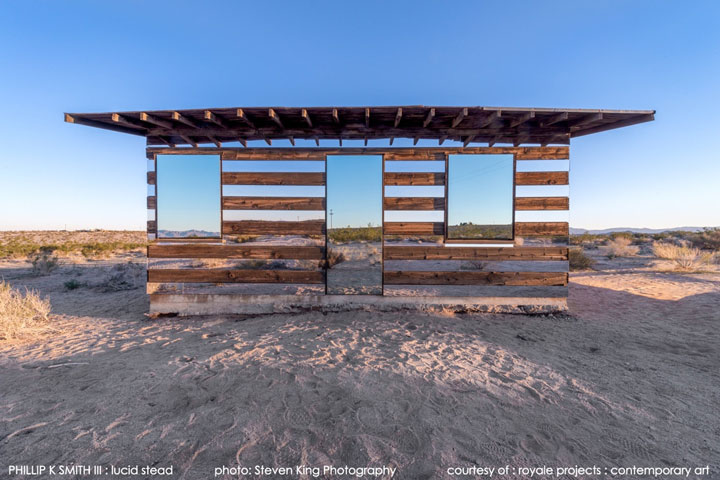 High Desert: An Invisible Hut In The Middle Of The Californian Desert-1