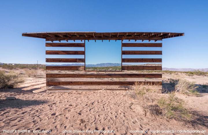 High Desert: An Invisible Hut In The Middle Of The Californian Desert-2