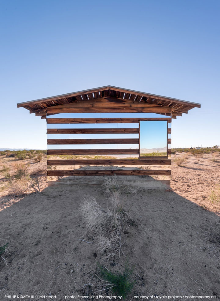 High Desert: An Invisible Hut In The Middle Of The Californian Desert-3