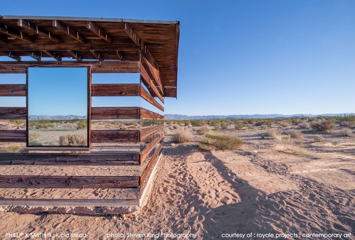 High Desert: An Invisible Hut In The Middle Of The Californian Desert-5