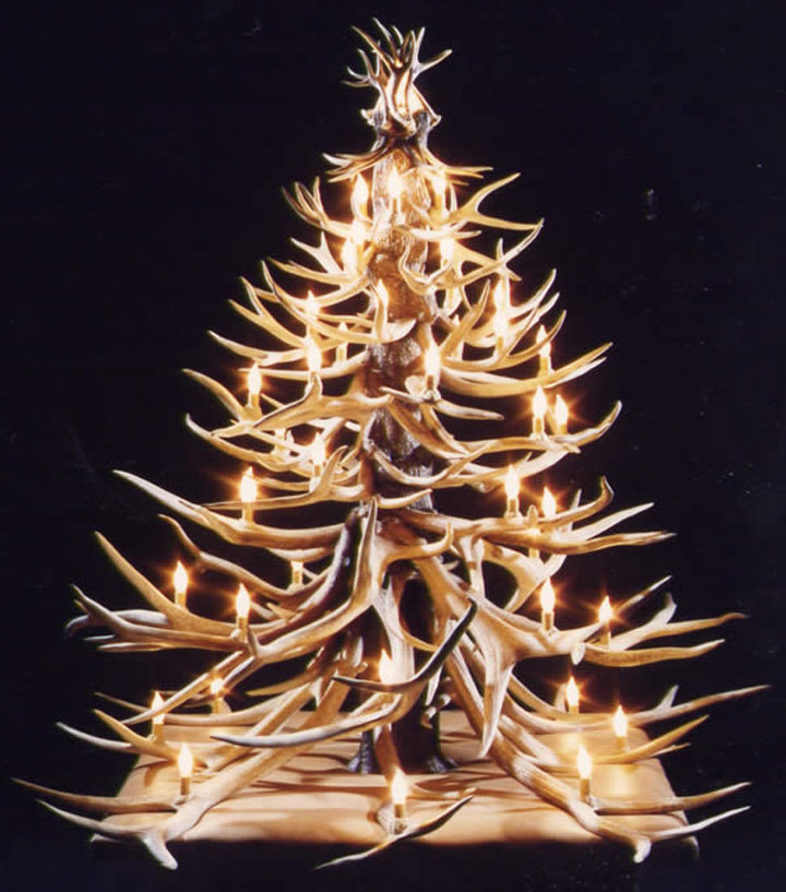 15 Non Traditional Christmas Tree Ideas: 20 Most Wacky And Non-Traditional Christmas Trees (Photo