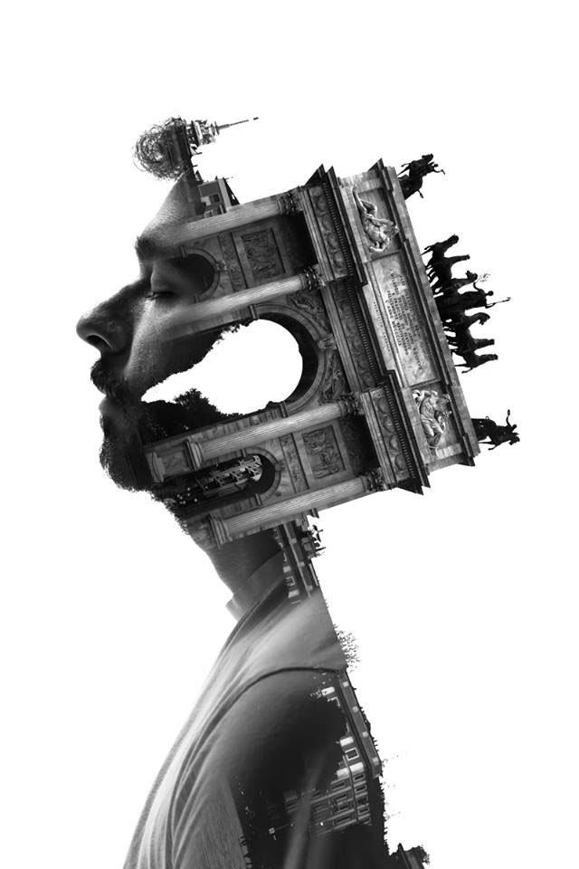 Striking Portraits Merging Faces With Milanese Architecture (Photo Gallery)-2