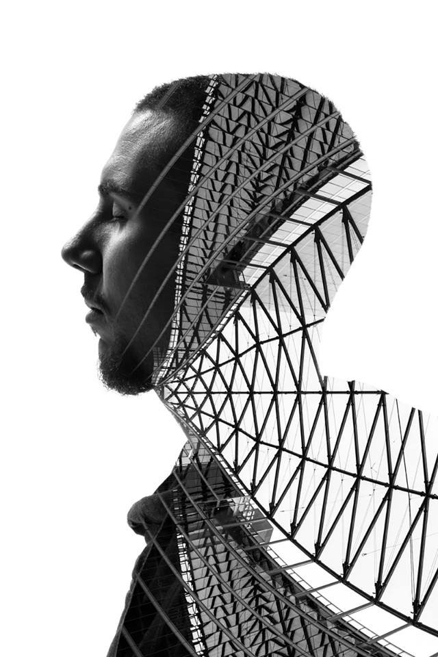 Striking Portraits Merging Faces With Milanese Architecture (Photo Gallery)-3