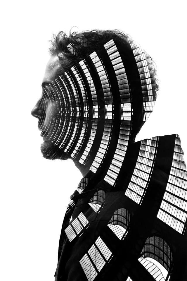 Striking Portraits Merging Faces With Milanese Architecture (Photo Gallery)-4