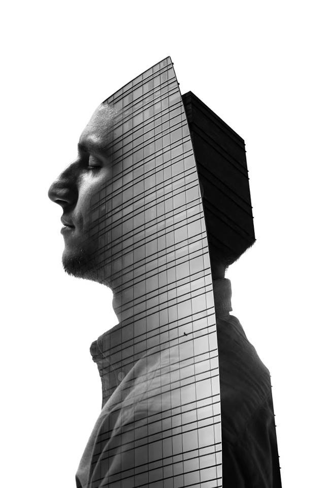 Striking Portraits Merging Faces With Milanese Architecture (Photo Gallery)-5