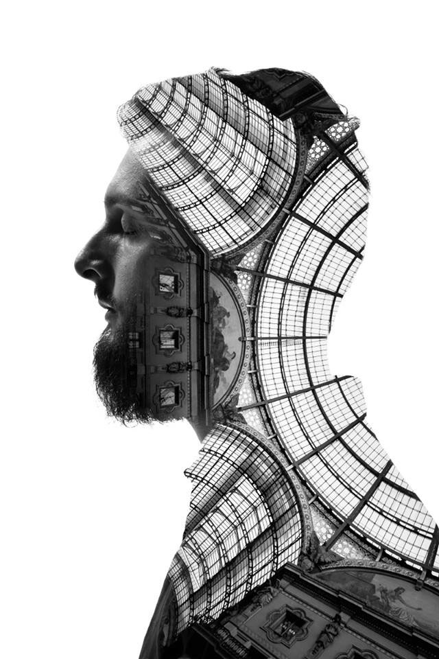 Striking Portraits Merging Faces With Milanese Architecture (Photo Gallery)-7