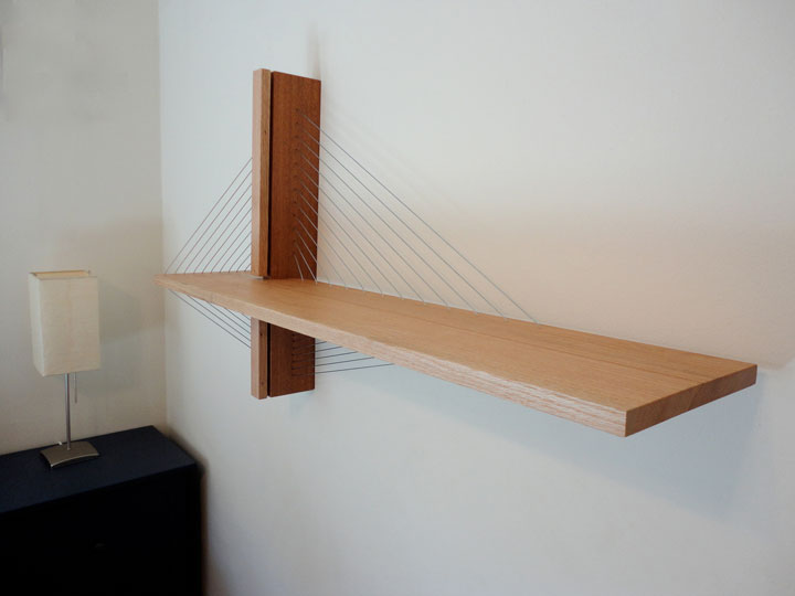 Amazing Furniture Held Together Only By The Tensioned Cables