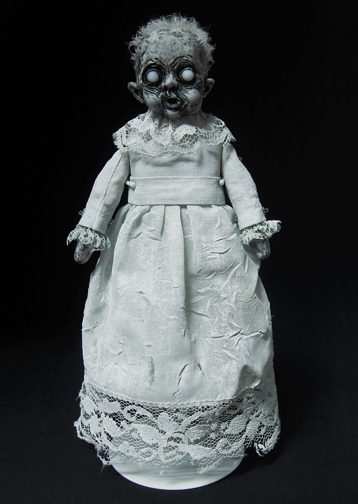 Ghost dolls-Terrifying Dolls Will Surely Frighten Naughty Kids-