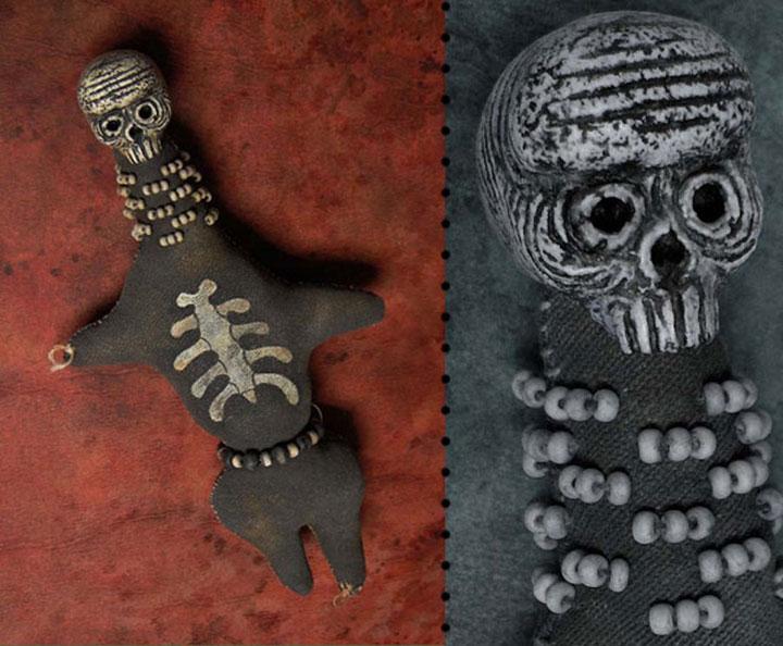 Skeletons dolls-Terrifying Dolls Will Surely Frighten Naughty Kids-13