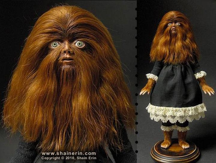 Babette, the monstrous beauty-Terrifying Dolls Will Surely Frighten Naughty Kids-14