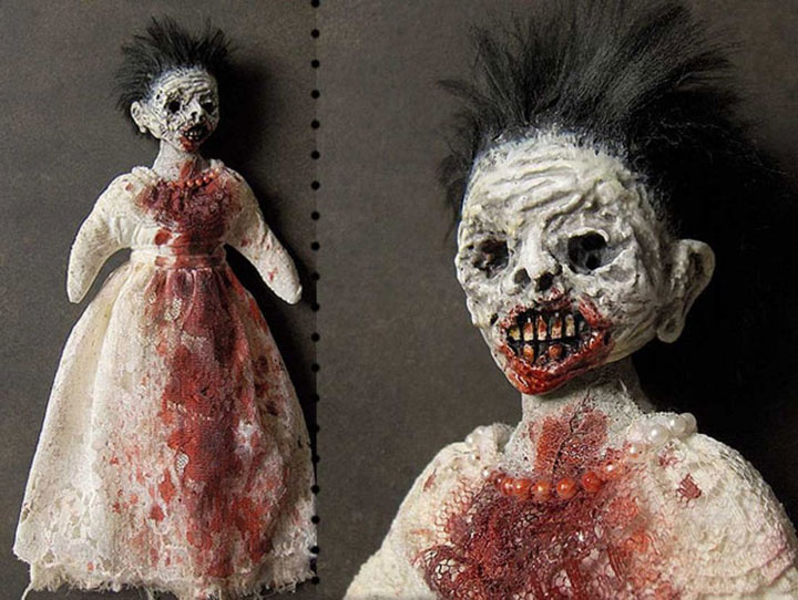 Zombie dolls-Terrifying Dolls Will Surely Frighten Naughty Kids-2