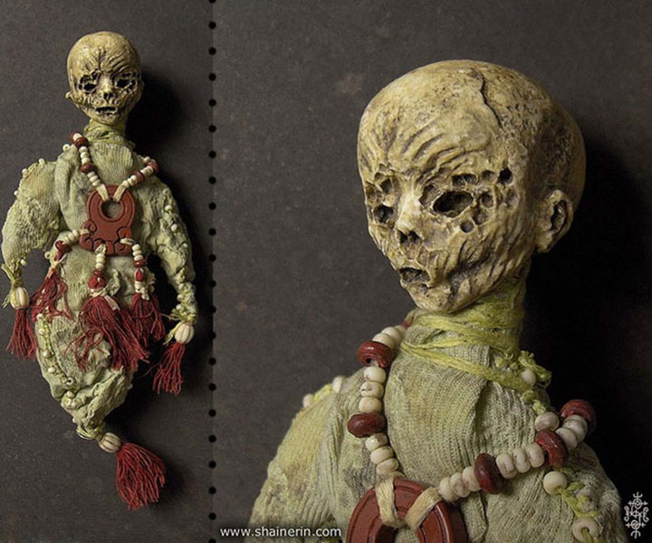 Mummies dolls-Terrifying Dolls Will Surely Frighten Naughty Kids-6