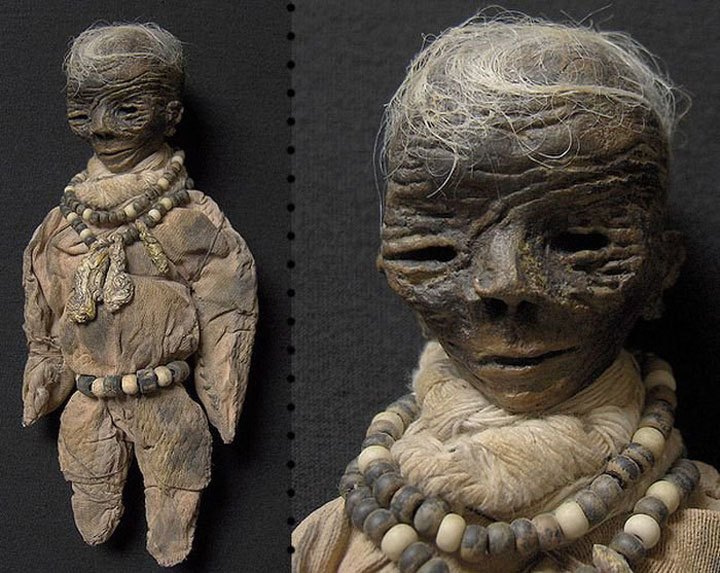Mummies dolls-Terrifying Dolls Will Surely Frighten Naughty Kids-8