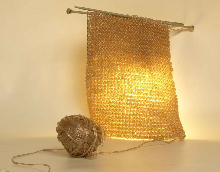 Knitting Lamp-Super Creative Lamps For Decoration Of Your Home-