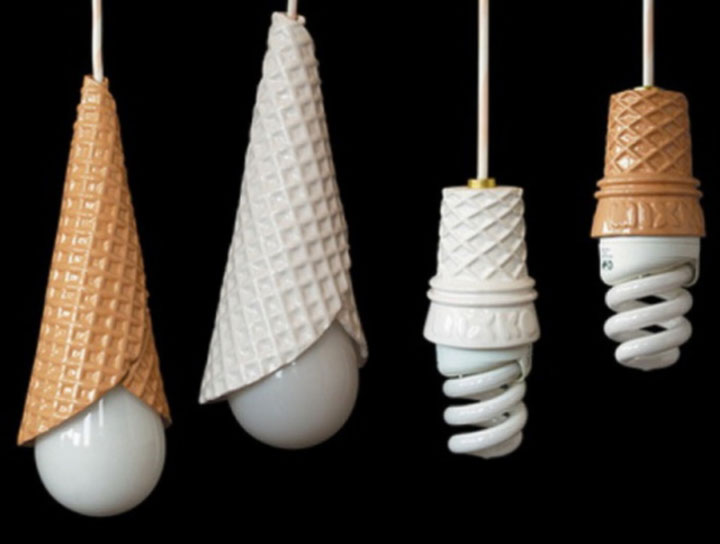 Ice cream cone lamps-Super Creative Lamps For Decoration Of Your Home-2