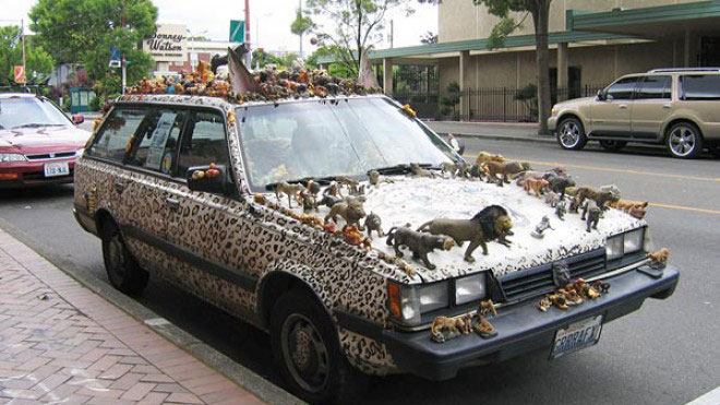 Top 22 Unusual And Crazy Cars That will not go unnoticed-14