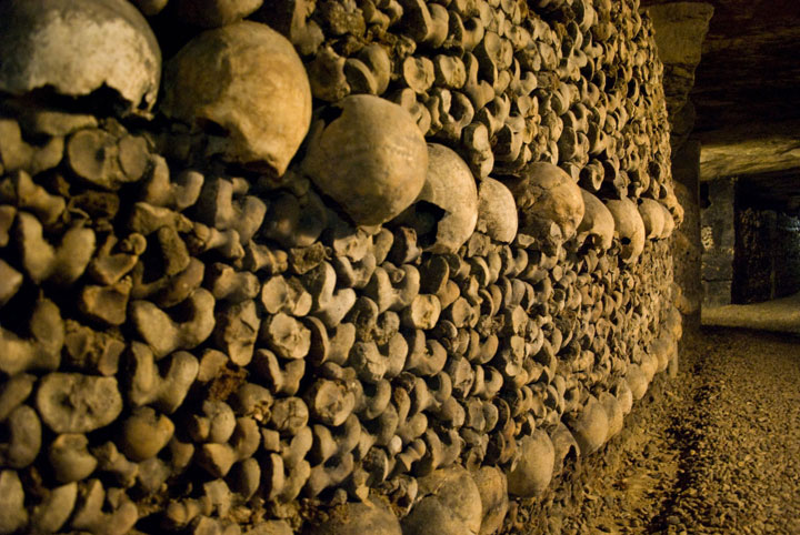 The Catacombs of Paris-The 10 Most Scary Places On The Earth-28