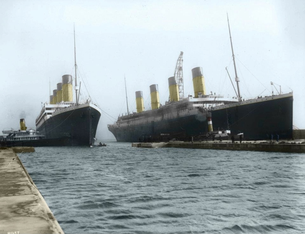 16 Colorized Photos Reveal The Incredible Beauty Of Legendary Titanic Ship-
