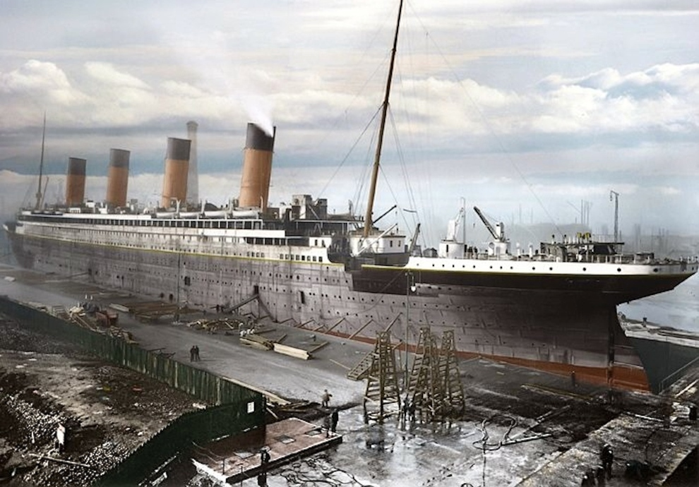 16 Colorized Photos Reveal The Incredible Beauty Of Legendary Titanic Ship-1