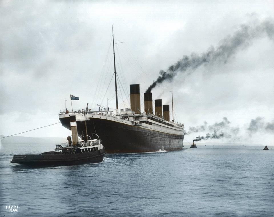 16 Colorized Photos Reveal The Incredible Beauty Of Legendary Titanic Ship-2