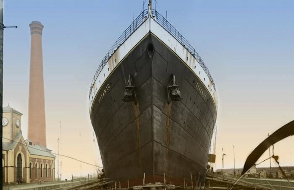 16 Colorized Photos Reveal The Incredible Beauty Of Legendary Titanic Ship-3
