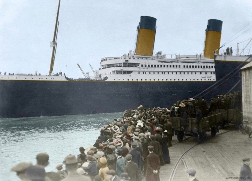 16 Colorized Photos Reveal The Incredible Beauty Of Legendary Titanic Ship-5