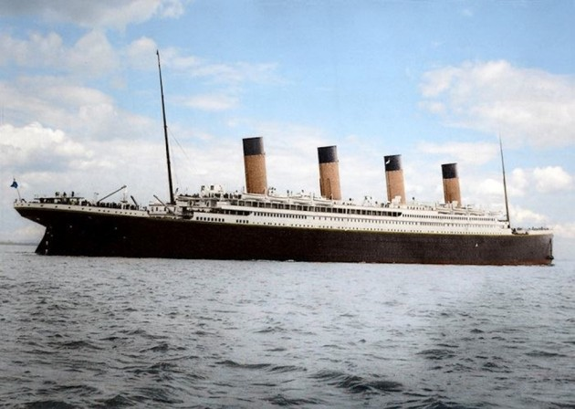 16 Colorized Photos Reveal The Incredible Beauty Of Legendary Titanic Ship-6
