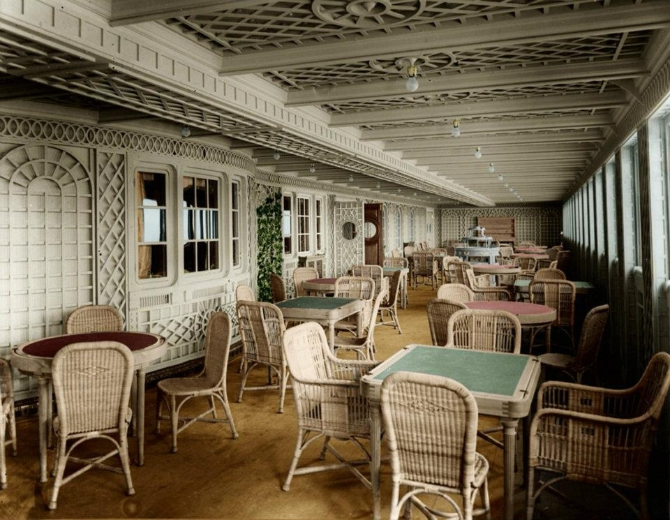 16 Colorized Photos Reveal The Incredible Beauty Of Legendary Titanic Ship-7